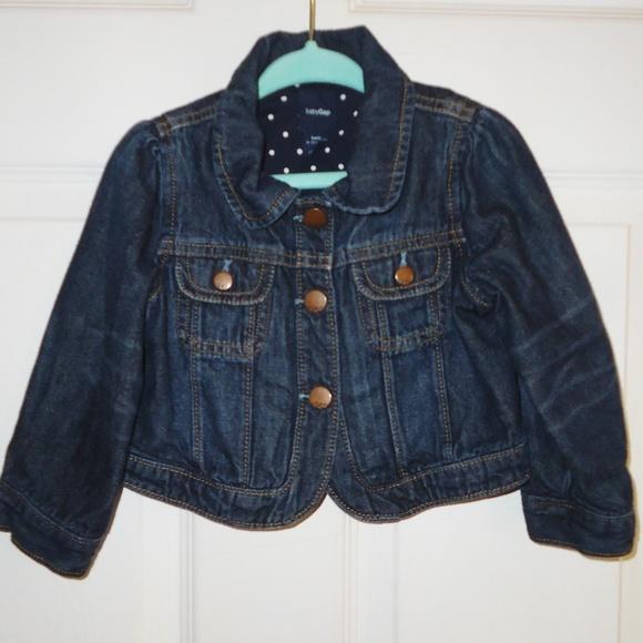 GAP Other - 💔 SOLD 💔 Baby Gap Size Dark Wash Denim Jacket